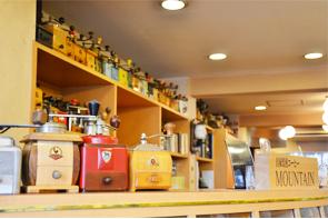 自家焙煎コーヒーのマウンテンです。
